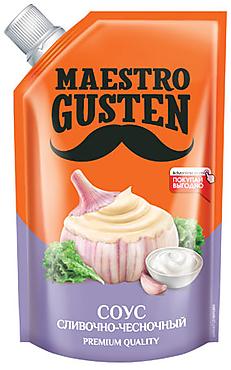 «Maestro Gusten», соус «Сливочно-чесночный», 196г