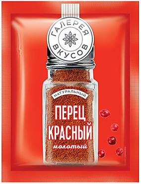 «Галерея вкусов», перец красный молотый, 10г
