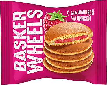 «Basker Wheels», pancake с джемом с соком малины, 36г
