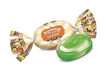 Карамель со вкусом груши (упаковка 1кг)