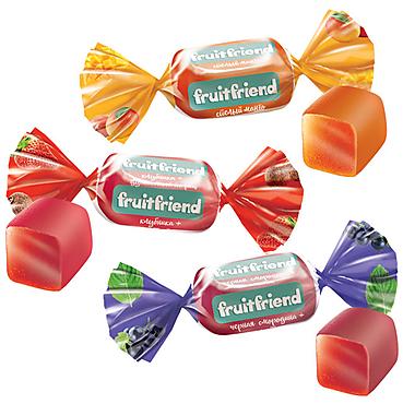 Конфета Fruit Friend (упаковка 1кг)