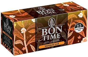 «Bontime», bontime чай черный, 25 пакетиков, 50г