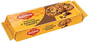 «Яшкино», печенье сдобное с кусочками глазури, 200г