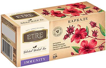 «ETRE», чайный напиток Immunity каркаде, 37г