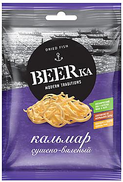 «Beerka», кальмар сушёно-вяленый, 70г