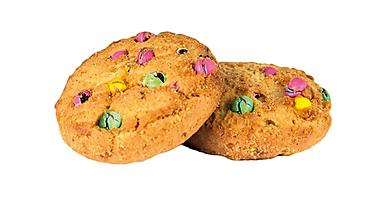 Печенье сдобное с цветным драже, 200г