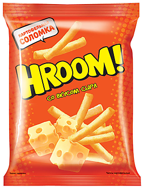 Чипсы «Hroom» со вкусом сыра, 50г