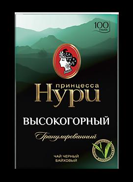 Чай черный «Принцесса Нури» высокогорный гранулированный, 100г