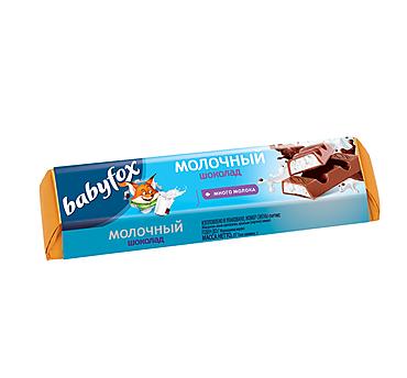 Шоколад «Babyfox» детский молочный, 47г