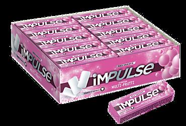 Жевательная резинка «IMPULSE» со вкусом фруктов, 14г