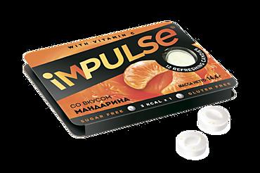 Пастилки «IMPULSE» со вкусом мандарина, 14г