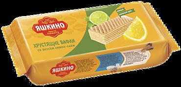 Вафли «Яшкино» лимон-лайм, 300г