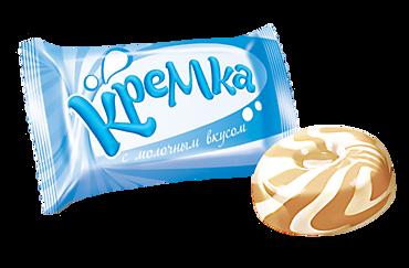 Карамель Кремка с молочным вкусом