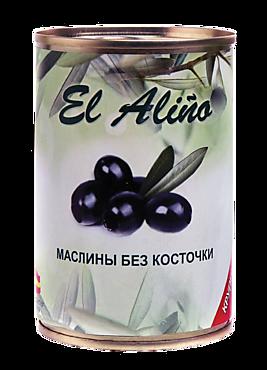 Маслины «EL alino» крупные без косточки, 290мл