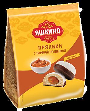Пряники «Яшкино» с вареной сгущенкой, 350г