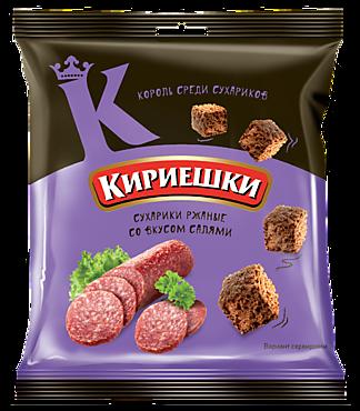 Сухарики «Кириешки» со вкусом салями, 40г