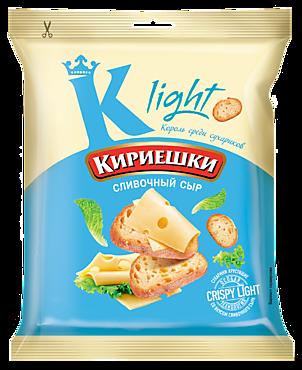 Сухарики «Кириешки Light» со вкусом сливочного сыра, 33г