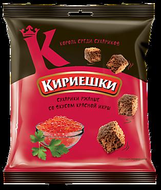 Сухарики «Кириешки» со вкусом красной икры, 40г
