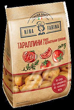 Тараллини «Nina Farina» Томат и ароматные травы, 180г