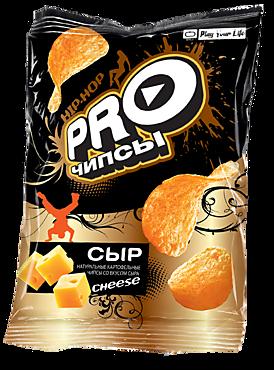 Чипсы «PRO-Чипсы» натуральные картофельные со вкусом сыра, 60г