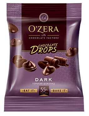 Шоколад горький «OZera» Dark drops, 70 г