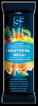 Батончик фруктовый «Smart Formula» Контроль веса, 40г