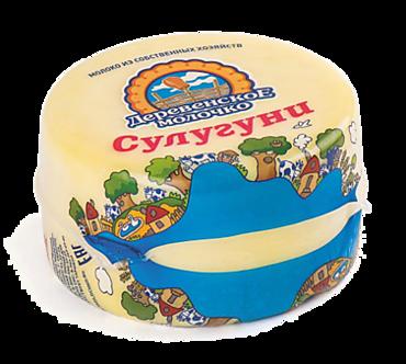 Сыр 45% «Деревенское молочко» Сулугуни, 300г