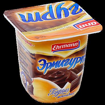 Пудинг 3% «Ehrmann» Эрмигурт шоколадный, 100г