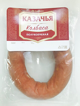 Колбаса полукопченая «Коровино» Казачья, 330г