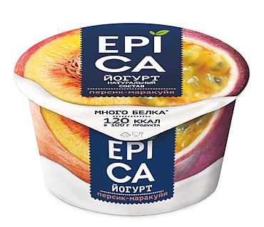 Йогурт 5% «Epica» Персик-маракуйя, 130г