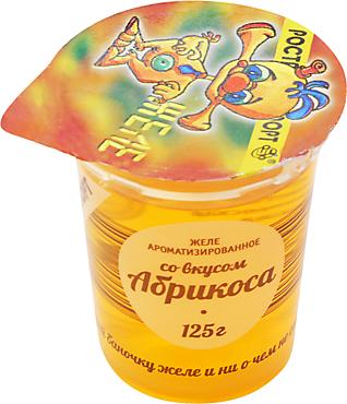 Желе «Ростагроэкспорт» со вкусом абрикоса, 125г