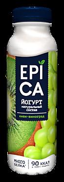 Йогурт 2.5% «Epica» киви-виноград, 290г