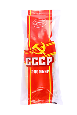 Мороженое пломбир СССР в стаканчике, 75г