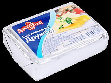 Сыр плавленый Дружба 50% «Деревенский сыр», 80г
