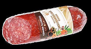 Колбаса сырокопченая «Гордость фермера» Брауншвейгская, 250г