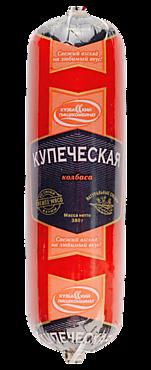 Колбаса варено-копченая «Кузбасский пищекомбинат» Купеческая, 380г