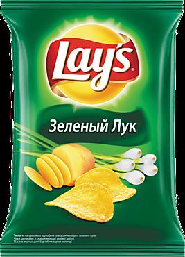 Чипсы «Lay's» Зеленый лук, 150г