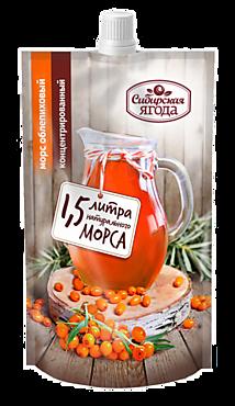Морс облепиховый «Сибирская Ягода» с сахаром, 200мл