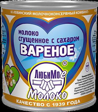 Молоко «Любимое молоко» сгущенное с сахаром, вареное, 380г