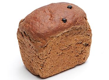 Хлеб ржано-пшеничный с солодом Чайный с изюмом, 400г