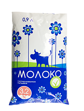 Молоко, 3.2%, 900г