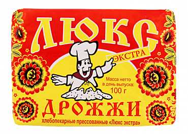 Дрожжи Люкс Экстра, 100г