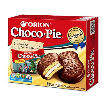 Печенье «Orion» Choco Pie, 12шт,, 360г