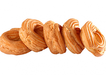Пирожные заварные кольца, 5шт., 300г