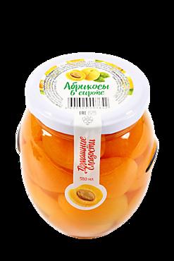 Абрикосы в сиропе «Домашние сладости», 580мл