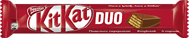 Батончик «KitKat» Duo, 58г