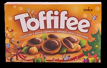 Конфеты «Toffifee» с орехом, 125г