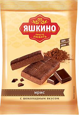 Ирис «Яшкино» с шоколадным вкусом, 140г