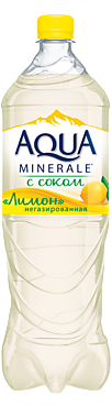 Напиток Лимон «Аква Минерале», 1,5л