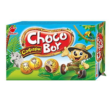 Печенье «Orion» Choco Boy Сафари, 42г